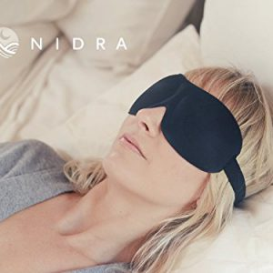 1-Rated-Patented-Sleep-Mask-Premium-Quality-Eye-Mask-with-Contoured-Shape-By-Nidra-Ultra-Lightweight-Comfortable-Great-for-Travel-Shift-Work-Meditation-Migraines-Sleep-Satisfaction-Guaranteed-Adjustab-0